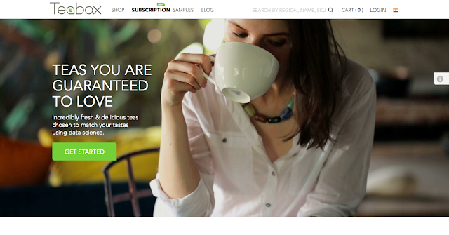 Teabox Launches The World's First Personalized Tea Subscription Service