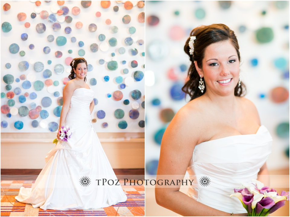 Baltimore Hilton Wedding Photos bride