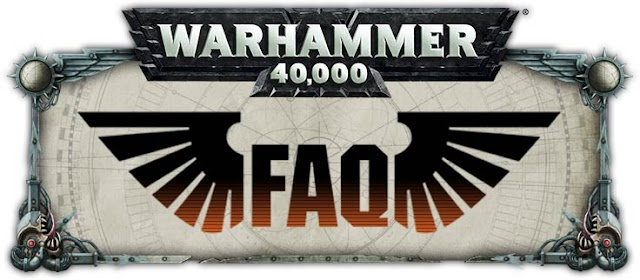 New 40k Updated FAQs v1.1