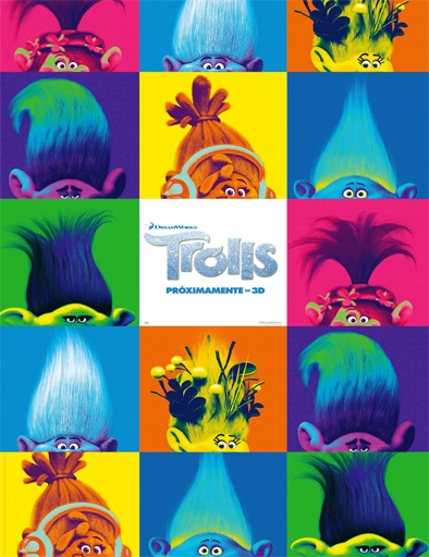 Ver Trolls (2016) Online