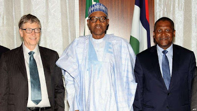 Bill Gates Spots Loopholes In FG's Economic Plan, Urges Buhari To Focus More On Education, Health