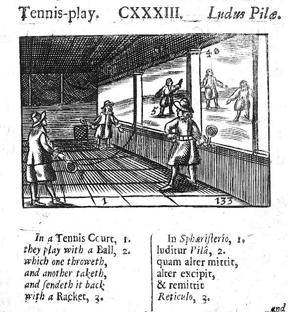 1600s tennis England