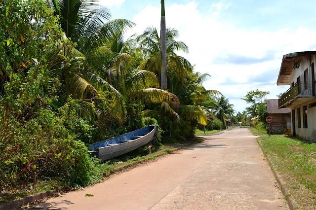Guyane, Régina, Ecomusée, approuague