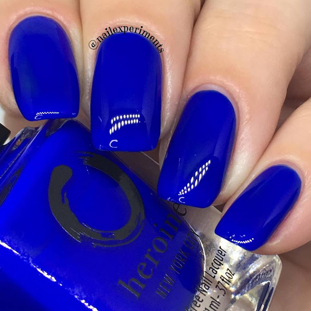 Heroine New York City polish in Royal Blood