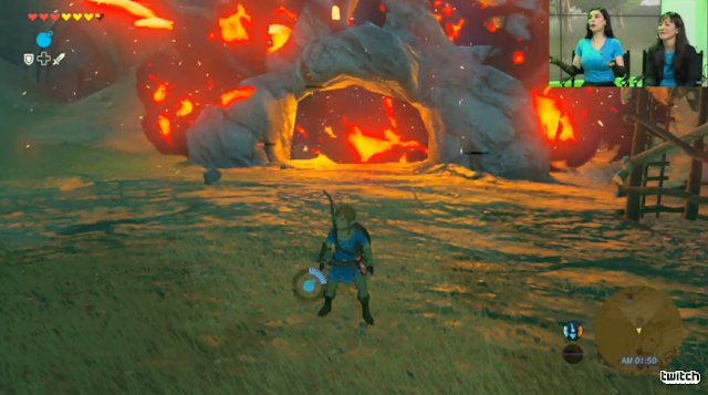 The Legend of Zelda: Breath of the Wild cool guys don't look at explosions skull house TNT bomb