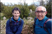 Moratza mendiaren gailurra 1.058 m. -- 2018ko maiatzaren 13an