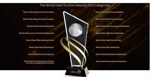 Indonesia Memenangkan 12 Penghargaan World Halal Tourism Awards 2016!
