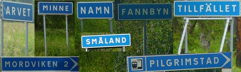 roliga städer namn sverige