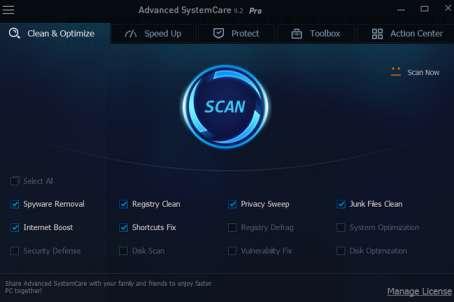 Advanced SystemCare Pro full