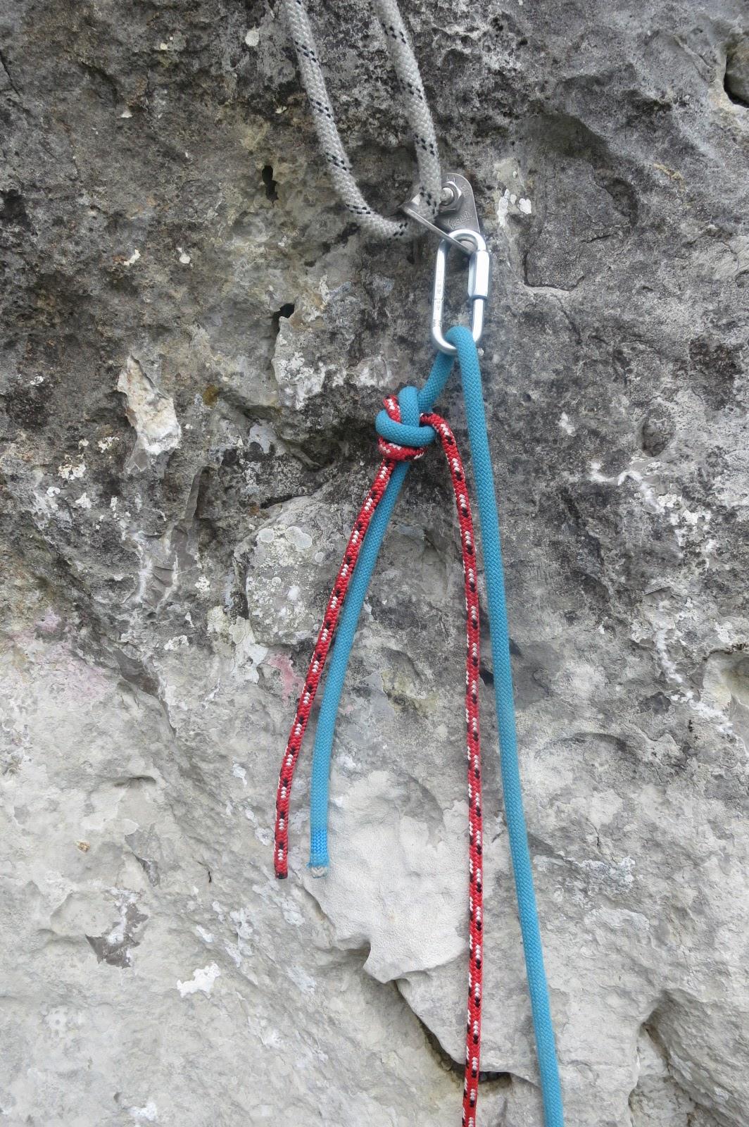 technique grimper de corde