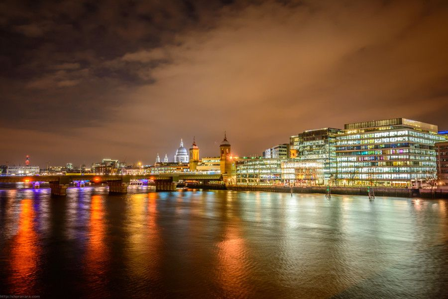 25. Lights of London by Vitaliy Sharavara