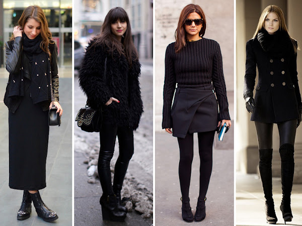 How to Wear Black Without Looking Weird