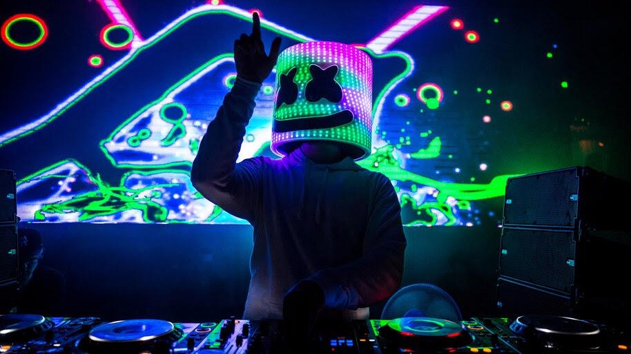 DJ Marshmello, 4K, #4.676