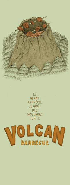 illustration-volcan-barbecue-typographie