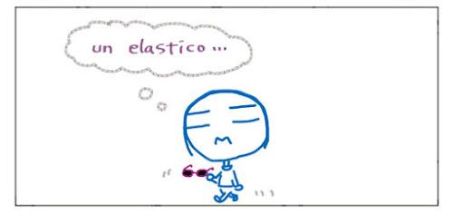 Un elastico...