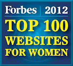 "the full plate blog named to Forbes 2012 ""Top 100 Sites for Women""... amazing! thank you!"