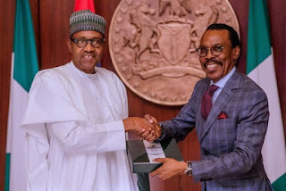 Presidential technical advisory committee chaired by Bismarck Rewane, the CEO of Financial Derivatives, has submitted its report to President Muhammadu Buhari, PETFADBLOG.COM reports.