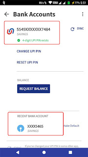 two banks on bhim app