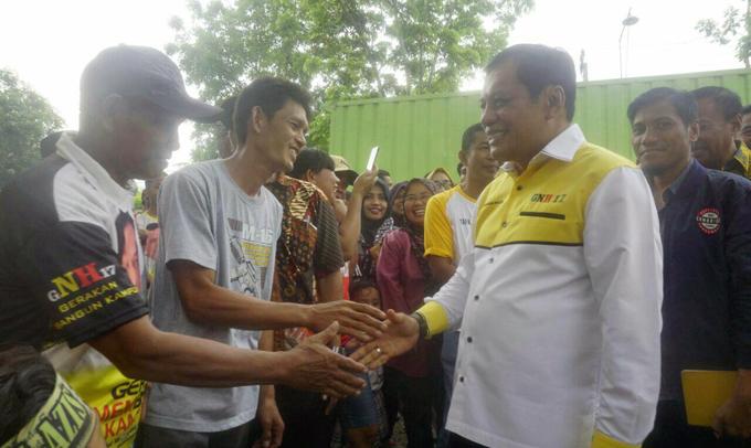Pulang Kampung, NH Silaturahmi dengan Warga Bengo