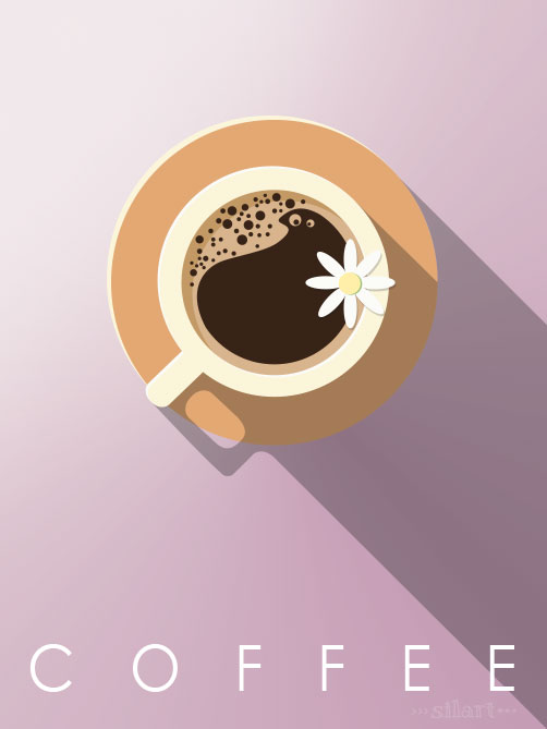 coffee, vektorgrafik, vector graphic, Kaffeetasse