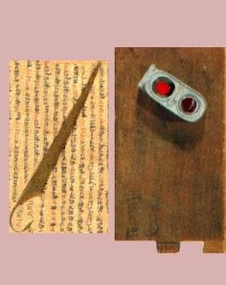 Papiro y Portaplumas