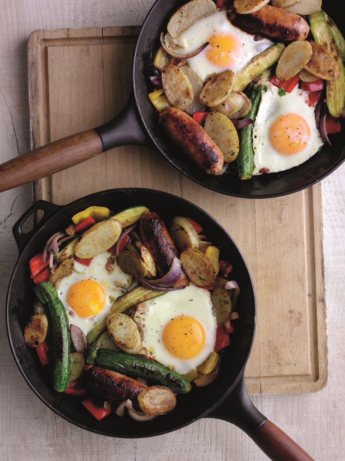 How To Make A One Pan Spicy Farmer's Breakfast