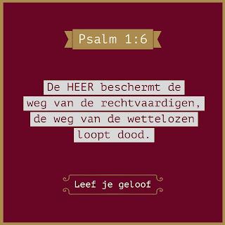 Leef je geloof, Hillie Snoeijer, God beschermt de rechtvaardigen, Psalm 1:6