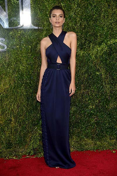 Emily Ratajkowski - Tony Awards 2015