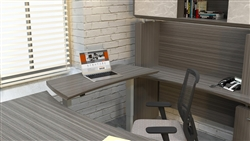 Electronic Office Desk