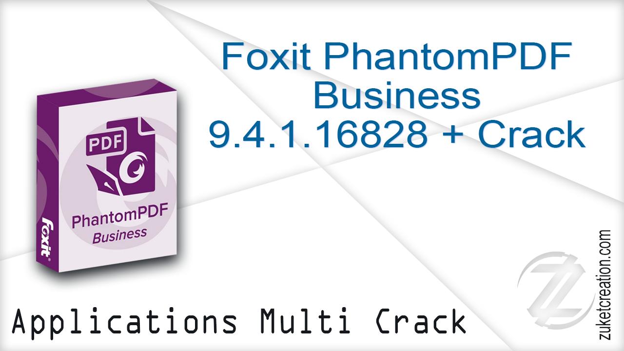 foxit phantompdf crack 2019