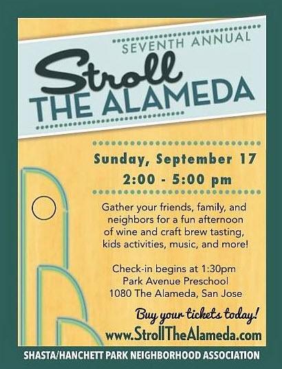 The San Jose Blog Stroll The Alameda On September 17th