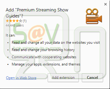 """Premium Streaming Show Guides""  (Extensión)"