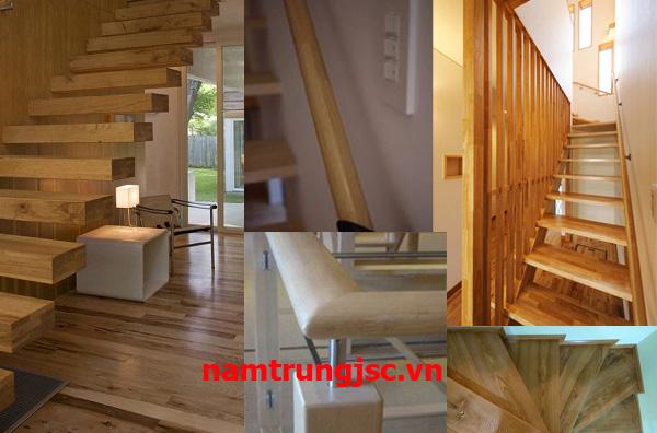 mặt bậc cầu thang gỗ