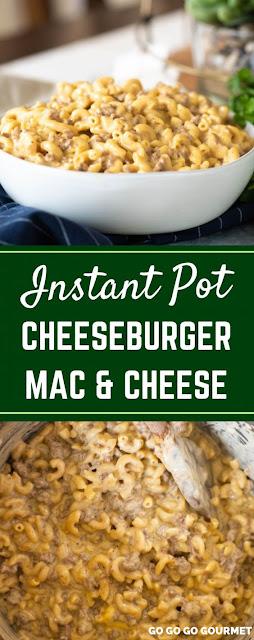 INSTANT POT CHEESEBURGER MAC
