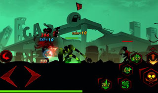 Zombie Avengers Stickman Mod Apk attack speed 10x
