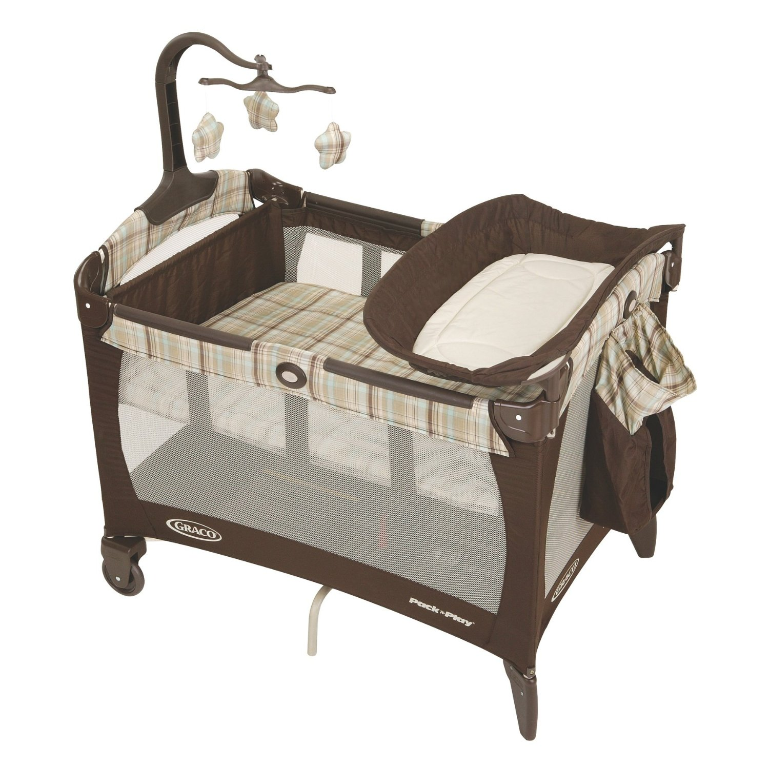 pack and play with bassinet and changer