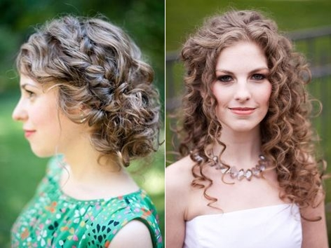 Penteados de festa para cabelos cacheados