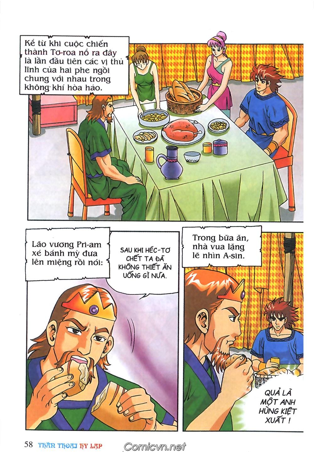 Thần Thoại Hy Lạp Màu - Chapter 63: Lão vương Pri am chuộc xác con - Pic 32