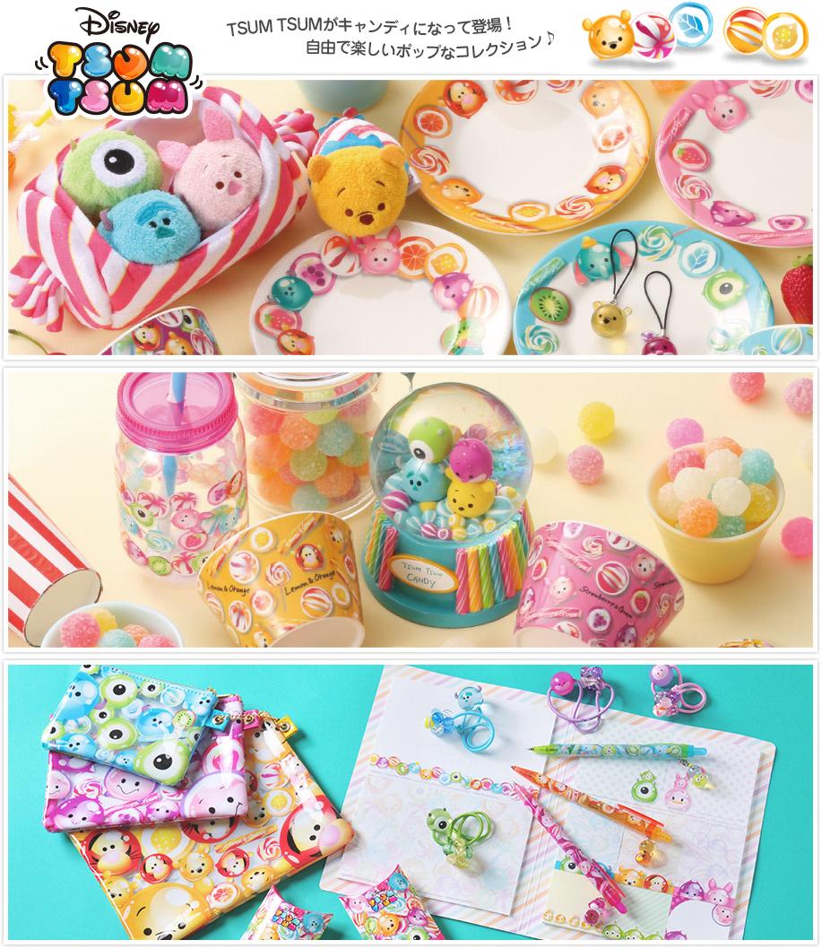 比咧!BE LIEH: 【日本迪士尼商店 發表】TSUM TSUM 糖果系列商品
