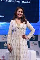 Madhuri Dixit Nene in designer Anarkali Dress at FICCI Awards 2017 006.JPG
