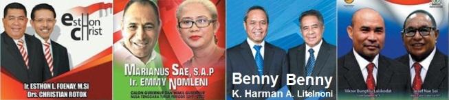 Pasangan calon gubernur dan wakil gubernur Nusa Tenggara Timur (NTT) 2018