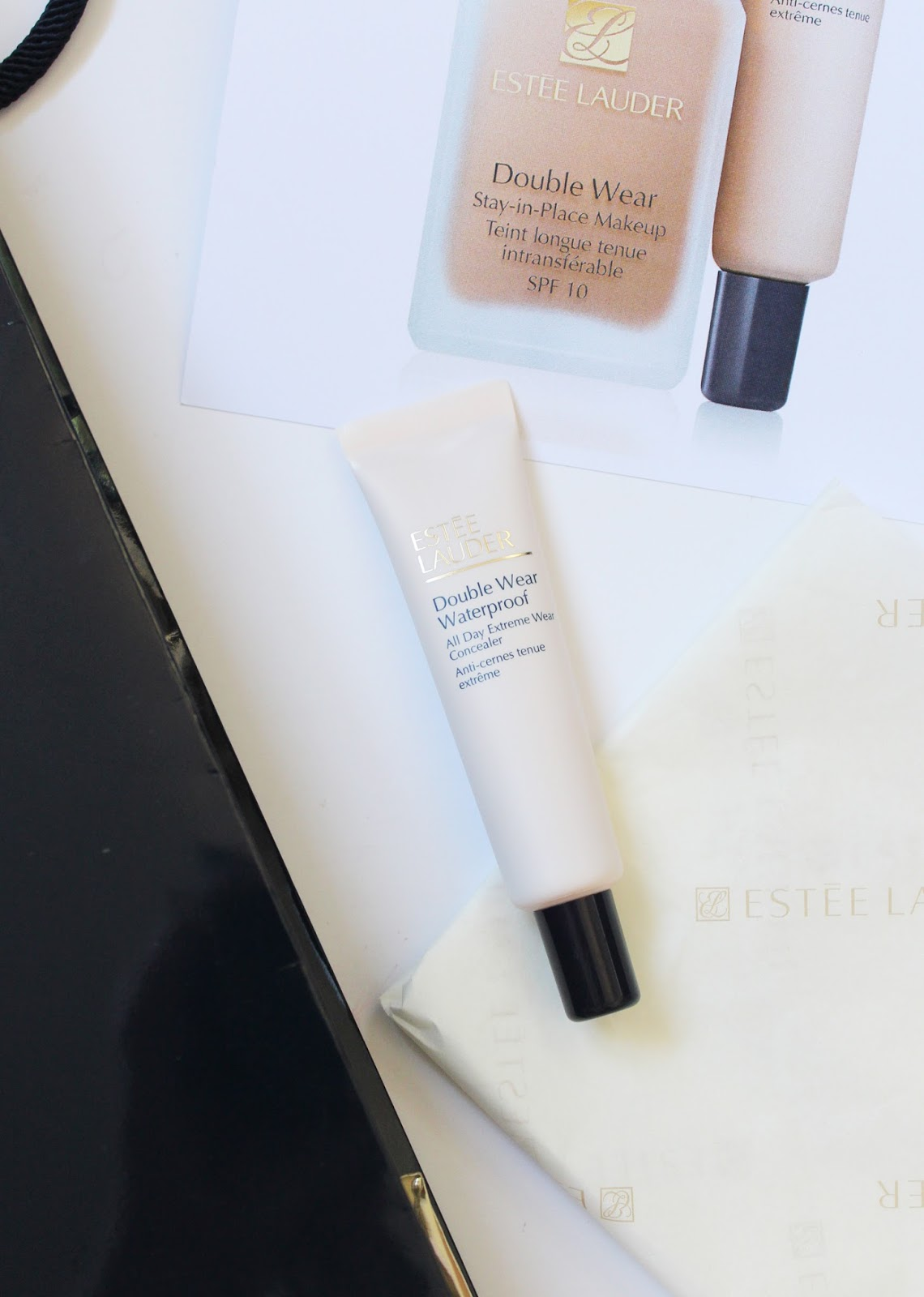 ESTEE LAUDER | New Product Launches Overview - Double Wear Waterprood Concealer - CassandraMyee
