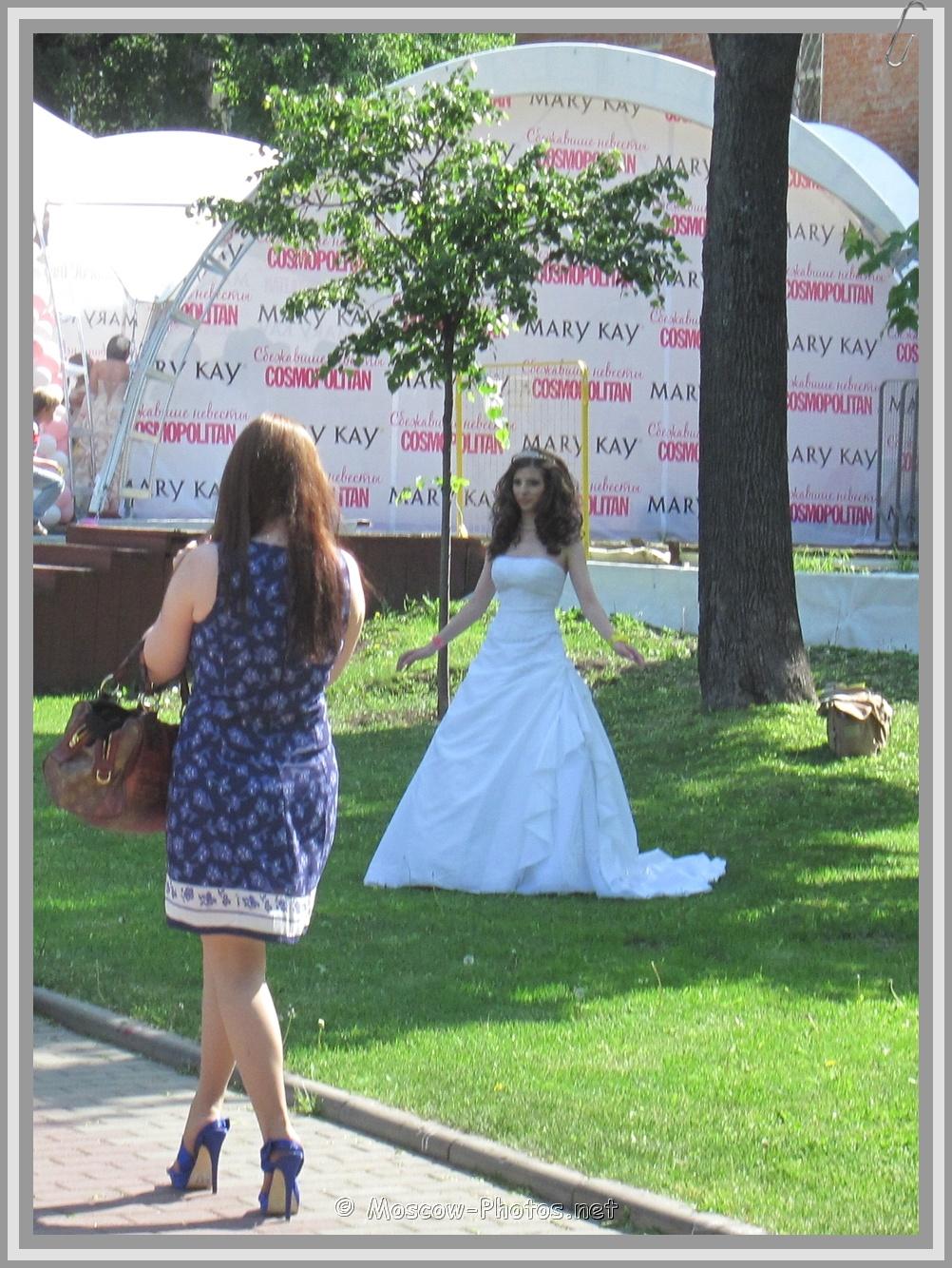 Runaway Bride Posing