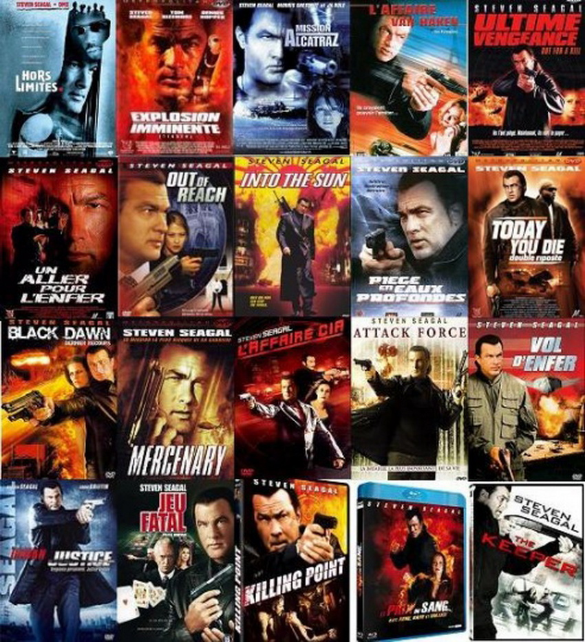 The New Cinema: STEVEN SEAGAL MOVIE COLLECTION