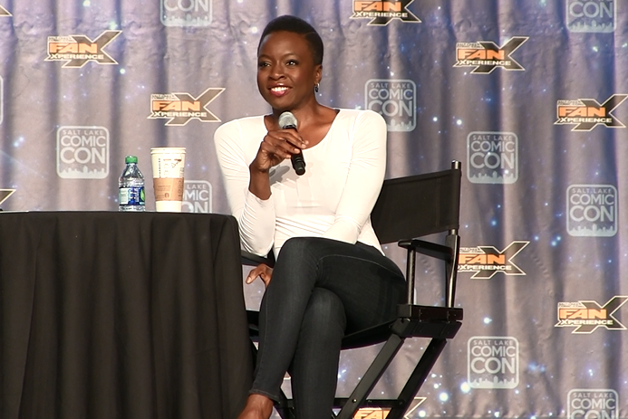The Walking Dead - Danai Gurira on Filming Naked Bed Scene & Intense Midseason Premiere