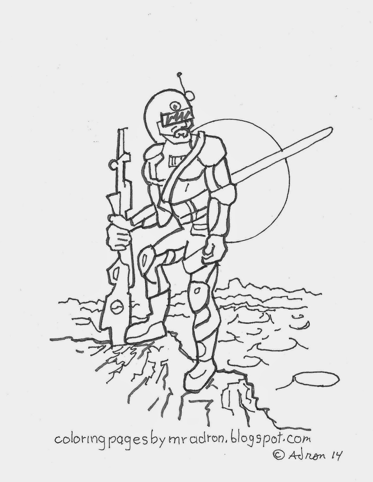 coloring pages for kids by mr adron 2014