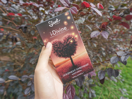 Review Sleek i-Divine Goodnight Sweetheart Eyeshadow Palette
