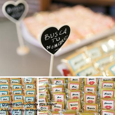 """Cartel """"busca tu nombre"""" para galletas personalizadas"""
