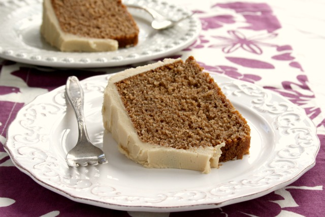 Warmly Spiced Buttermilk Clove Cake with Brown Sugar Fudge Frosting