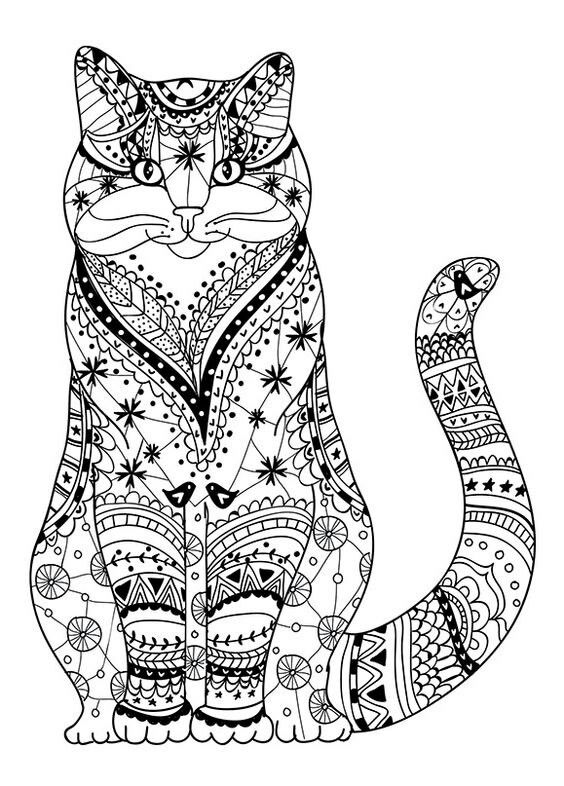 Coloring Pages Intricate Coloring Pages of Animals Free
